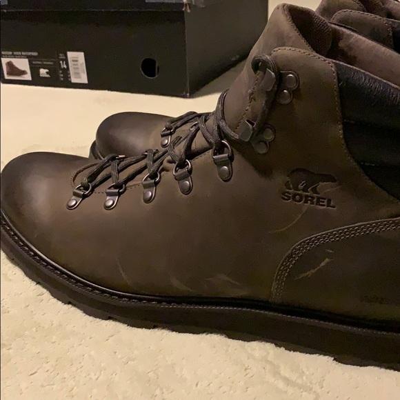 ae4465e8950 Men's Sorel Madson Hiker Waterproof Boot - Size 14 NWT
